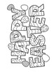 Easter DIFFICULT Word Search and Coloring Page