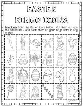 Easter DIY Bingo Game {DO IT YOURSELF}