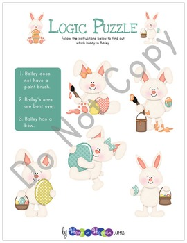 Easter Day Games and Activities for Kindergarten, First and  Second grades