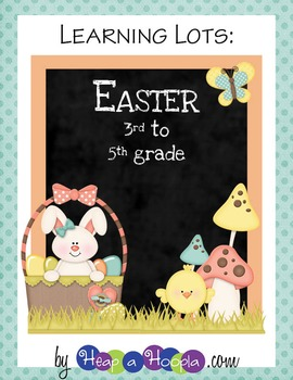 Easter Day Games and Activities for Third, Fourth and Fifth grades