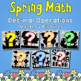 Operations With Decimals Test, Decimal Spring Break Packets For 5th Grade