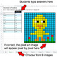 Easter - Decimals to Fractions - Google Sheets Pixel Art