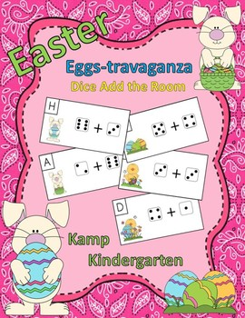 Easter Dice Add the Room Sums to 10