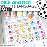 Easter Dice & Dot For Speech & Language
