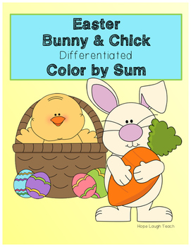 Easter Differentiated Color By Sum