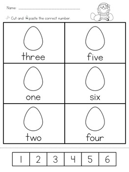 Easter Differentiated Math Worksheets