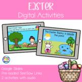 Easter Digital Activities | Google Slides & SeeSaw