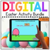 Easter Digital Activity Bundle   Distance Learning