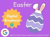Easter - Digital Breakout! (Escape Room, Scavenger Hunt, Brain Break)