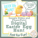 Digital Easter Egg Hunt Google Slides PowerPoint Virtual E