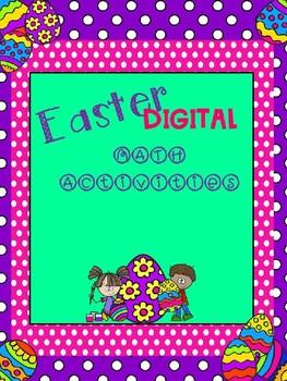 Easter Digital Math Centers