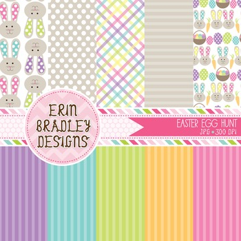 Easter Digital Papers - Springtime
