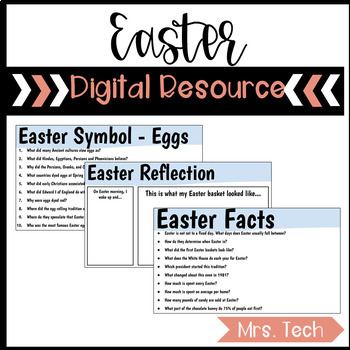 Easter Digital Resource