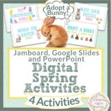 Spring Activities Digital Virtual Writing Math Google Jamb