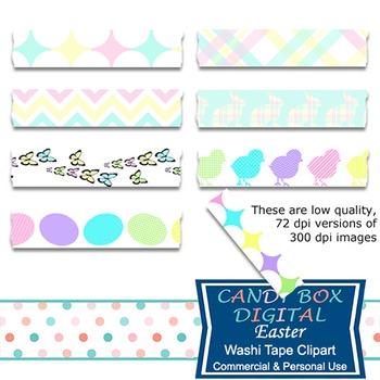 Easter Digital Washi Tape