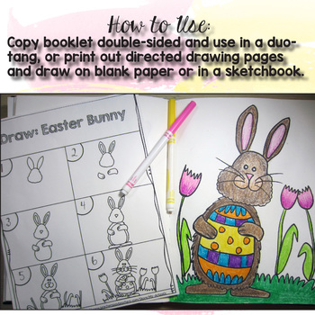 Easter Directed Drawing