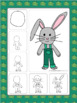 Easter Directed Drawing Free! Easter Bunny