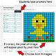 Easter - Dividing Integers - Google Sheets Pixel Art