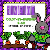 Easter Division Color-By-Number
