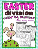 Easter Division Color by Number