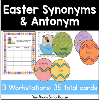 Easter Dogs: Synonyms and Antonyms