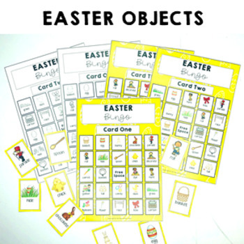 Easter Pre Primer Sight Words Bingo Game 5 card game $1 DEAL