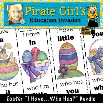 Easter Dolch Sight Word Packet