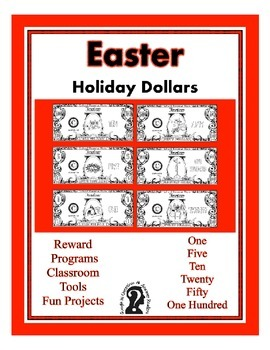 Easter Dollars - Teach Money, Use for Rewards, Support Centers  - Religious
