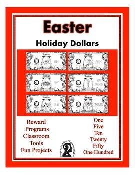 Easter Dollars - Teach Money, Use for Rewards, Support Cen