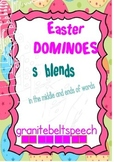 Easter Dominoes for 's' blends - Freebie!