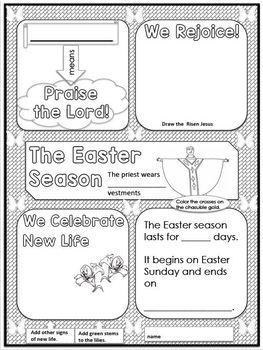 Easter Doodle Notes
