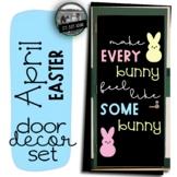 Easter Door Peeps Door March April Bulletin Board Spring D