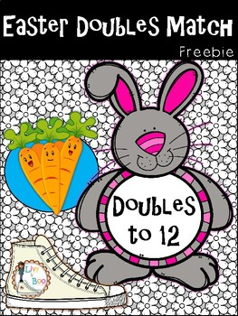 FREEBIE - Addition Doubles Match - Doubles to 12
