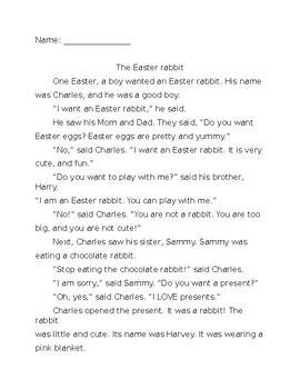 Easter EFL packet