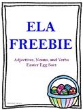 Easter ELA Freebie