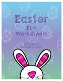 Easter ELA Worksheets