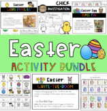 Easter/Spring ELA, Math and Science Activity Bundle!!!