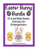 Easter: ELA and Math Bundle