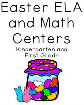 Easter ELA and Math Centers and Worksheets