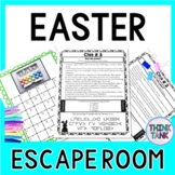 Easter ESCAPE ROOM - Fun Trivia Facts - Holiday Activity - Print & go!