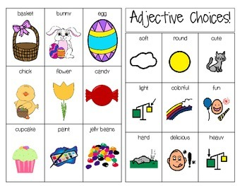 Easter Early Language File Folder Activities