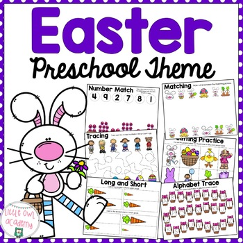Easter Early Learning Preschool Packet