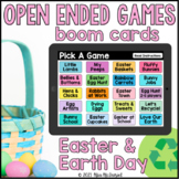 Easter & Earth Day Open Ended Games for ANY skill   Boom Cards™