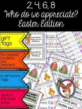 Easter Edition… Appreciation Gift Tags
