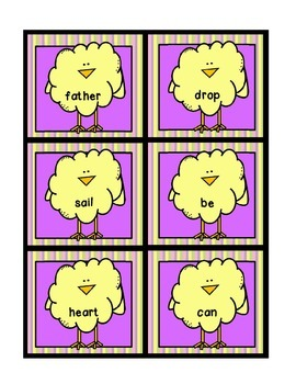 Easter Edition: Egg-tra Compound Word Practice