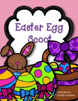 Easter Egg 3-Digit Addition/Subtraction SCOOT Freebie