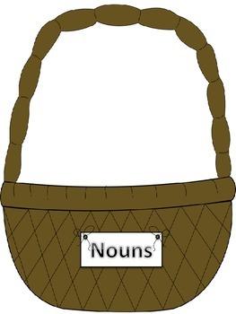 Easter Egg Activities: Nouns, Verbs, & Adjectives