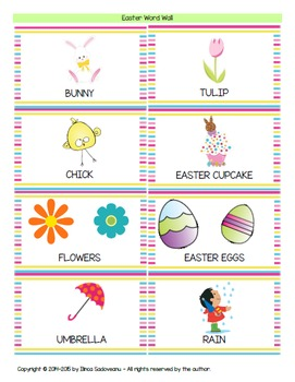 Easter Egg Activities and Flashcards