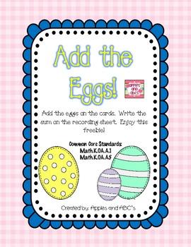 Easter Egg Adding {A Freebie}