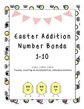Easter Egg Addition Number Bonds